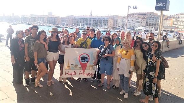 Marsilya otobüsle Avrupa