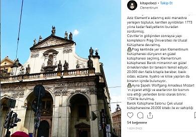 Otobüsle Avrupa Turu - Prag - Klementium
