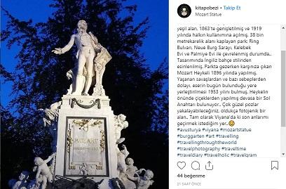 Mozart Heykeli - Viyana - AVusturya Otobsle Avrupa Turu - Haydi Avrupa'ya yorum