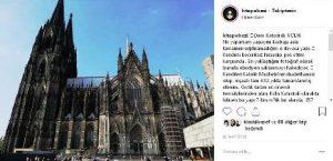 Almanya Köln gezilecek görülecek yerler