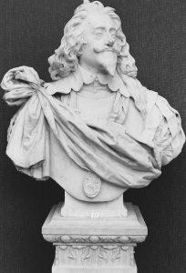 İngitere Kralı I. Charles Büstü Kopyası - Bernini tasarımı