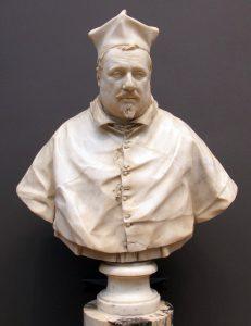 Kardinal Scipione Borghese Büstü - Bernini