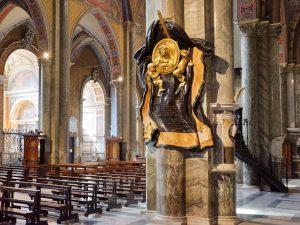 Maria Raggi Anıtı - Minerva Bazilikası - Bernini