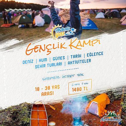 Akdeniz yaz gençlik kampı