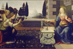 Meryem'e müjde Da Vinci