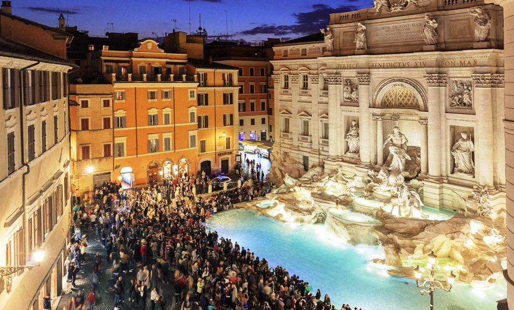 3 Yolun Kesiştiği yerde - Fontana di Trevi