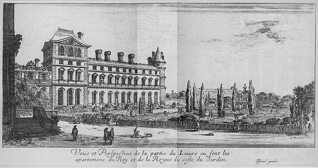 Louvre Sarayı ilk hali