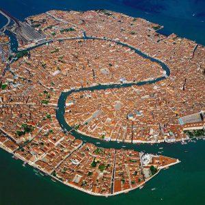 Venedik havadan görünümü